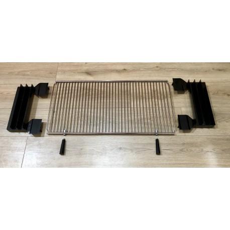 Girarrosto doppia alimentazione Batteria 12/24 volt + Elettrico 220 volt a Velocità Variabile