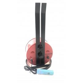 Girarrosto Velocità Variabile da 1a15 giri/minuto doppia alimentazione Batteria 12/24 volt + Elettrico 220 volt
