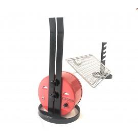 Girarrosto Alimentazione Usb COiDORi® Con Regolazione velocita' Spiedo Acciaio INOX Fermacarne 4 punte INOX Griglia Spiedo