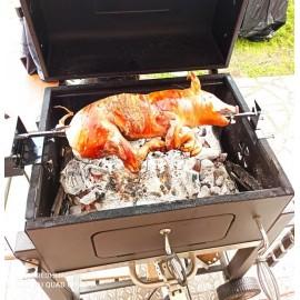 Girarrosto S K i R O N ® per barbecue tepro alimentazione usb e regolazione velocita' di rotazione portata kg 15