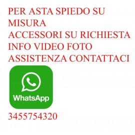Girarrosto Usb COiDORi® Spiedo Acciaio Fermacarne 4 punte Inox + POWER BANK